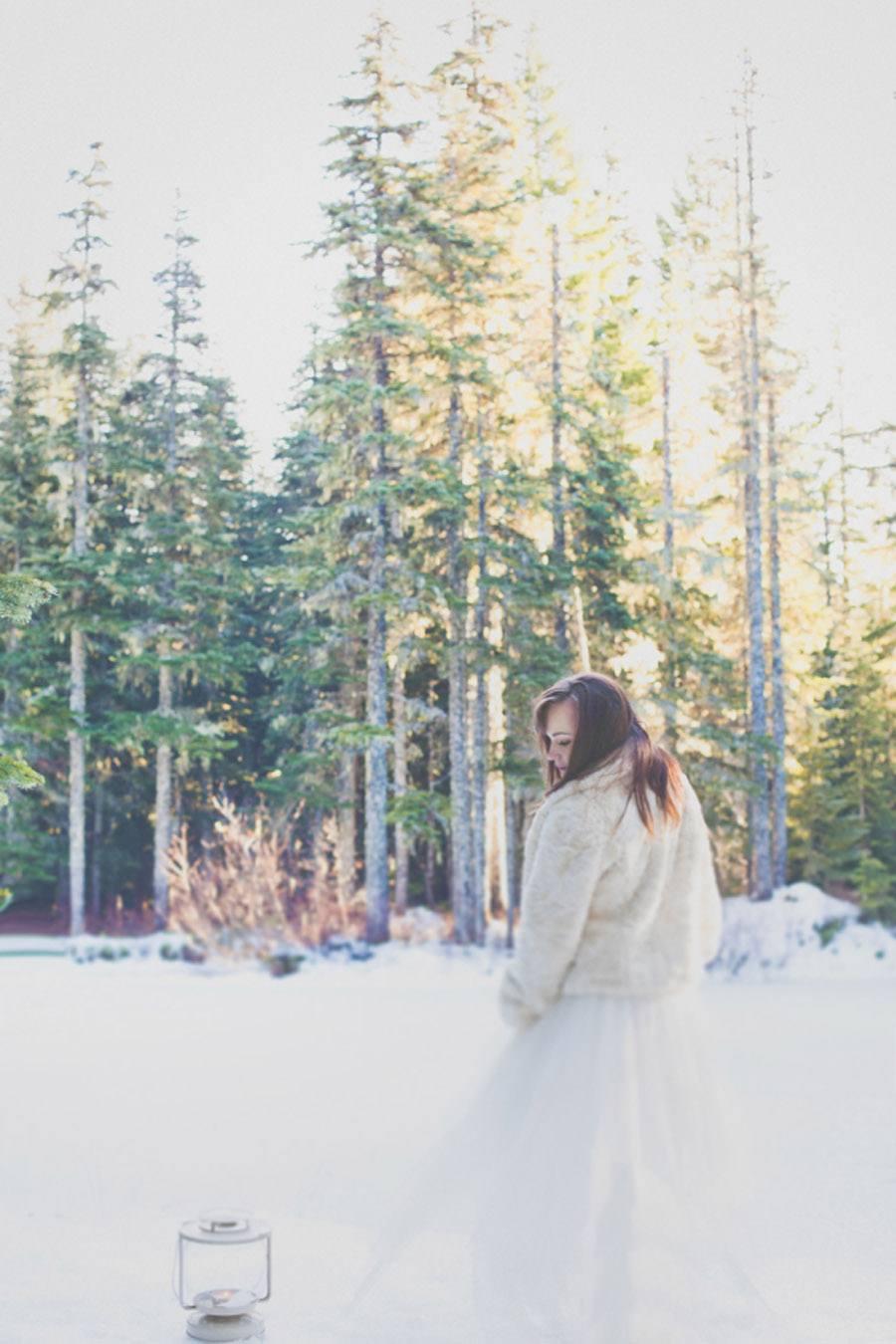 UNA BODA EN NAVIDAD novia-invierno