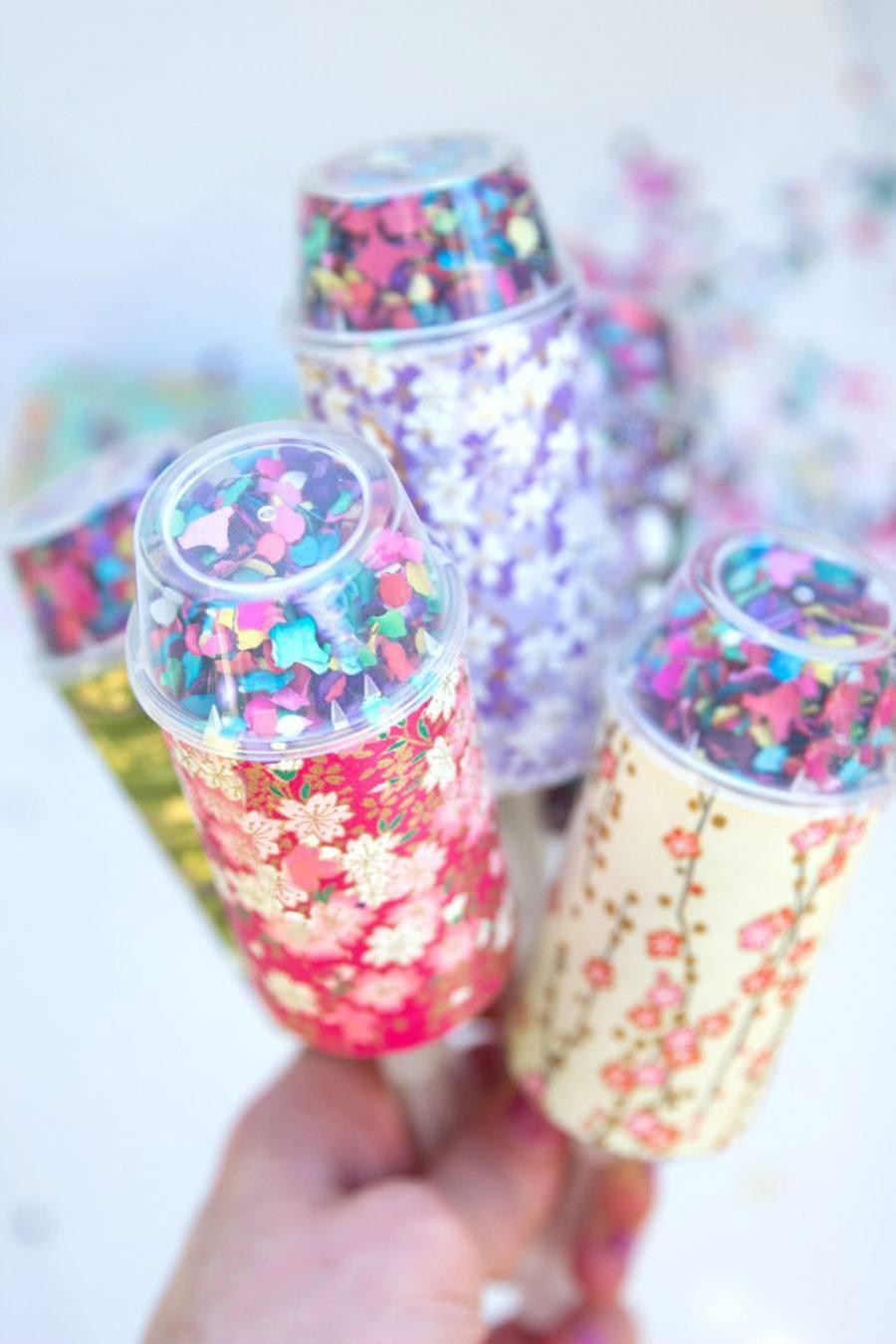 DIY: LANZADORES DE CONFETTI boda-confetti