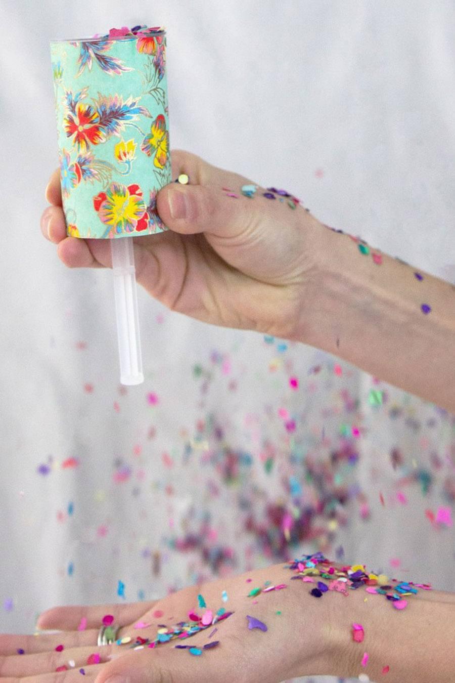 DIY: LANZADORES DE CONFETTI bodas-confetti