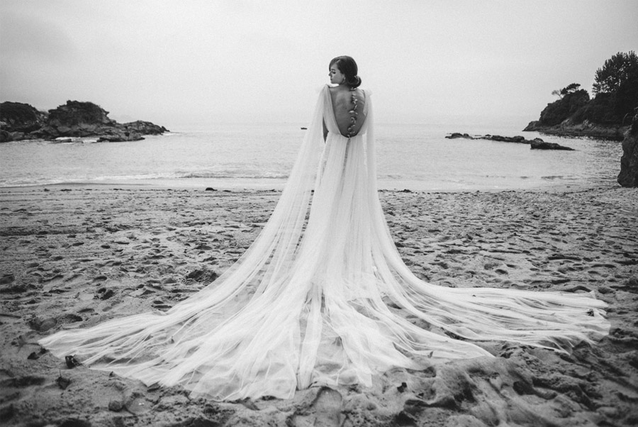 HALOPHILA, NUEVA COLECCIÓN PARA NOVIAS BOÜRET 2017 bouret-vestido-novia