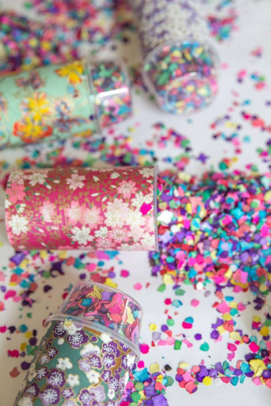 DIY: LANZADORES DE CONFETTI confetti-boda