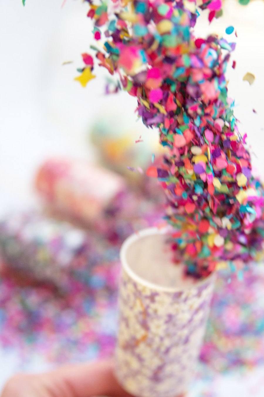 DIY: LANZADORES DE CONFETTI confetti-bodas