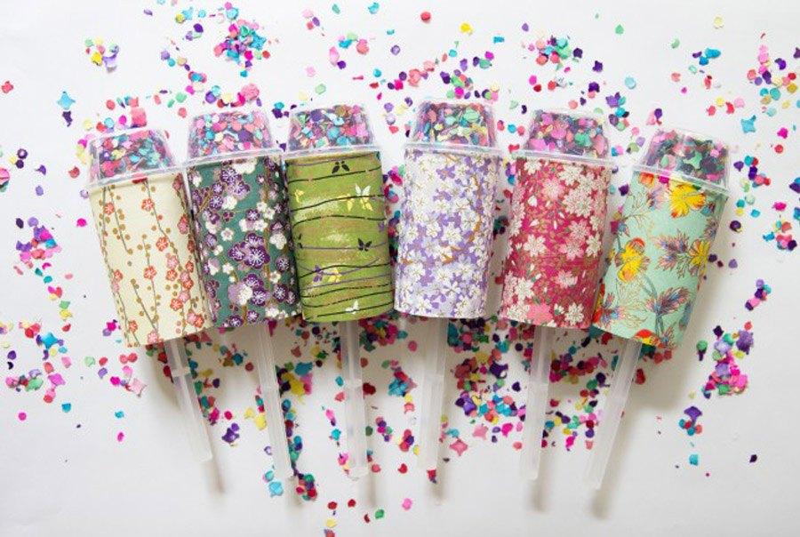 DIY: LANZADORES DE CONFETTI lanzador-confetti-boda