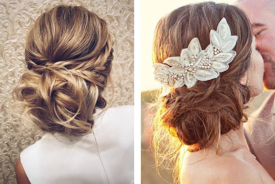 Peinados para bodas semirecogido1