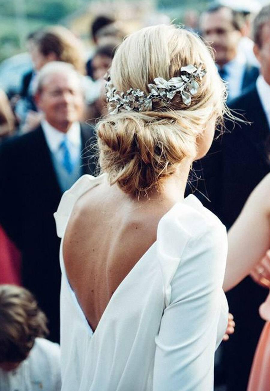 Peinados para bodas semirecogido4