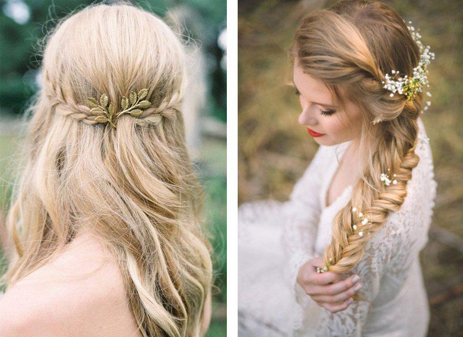 Peinados para bodas trenza1