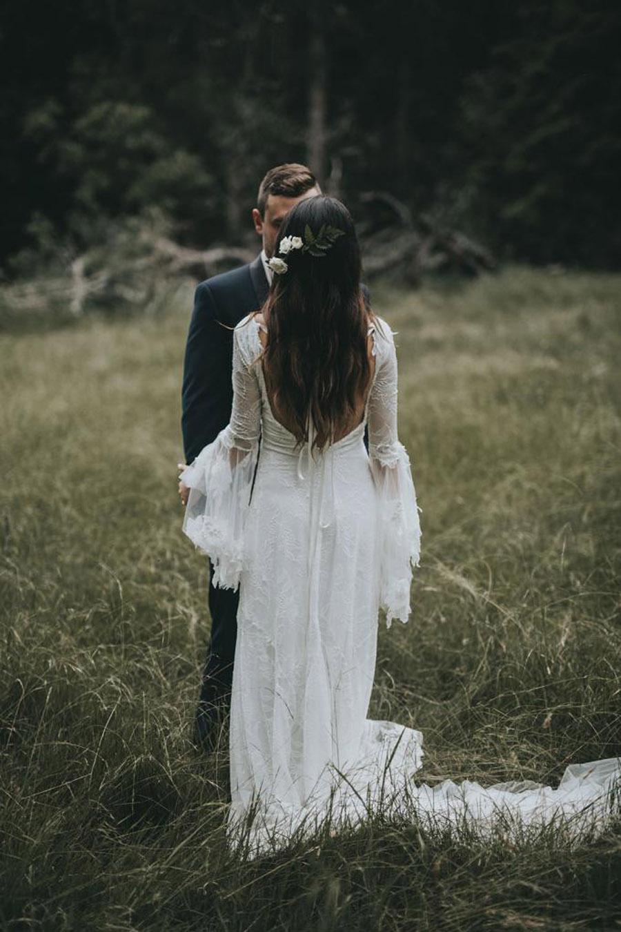 AMY & ADAM: LA CALMA DE LA FELICIDAD boho-boda