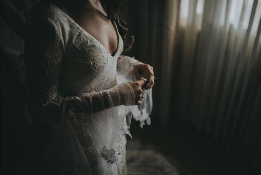 AMY & ADAM: LA CALMA DE LA FELICIDAD novia-vestido