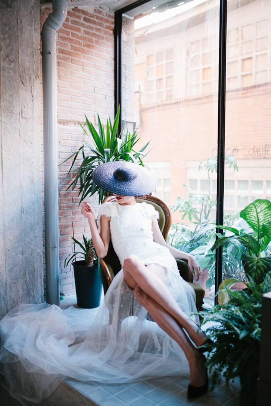 UNA NOVIA ROMÁNTICA Y URBANA novias-vestidos