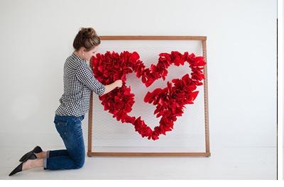 DIY SAN VALENTÍN: CORAZÓN DE PAPEL san-valentin-diy