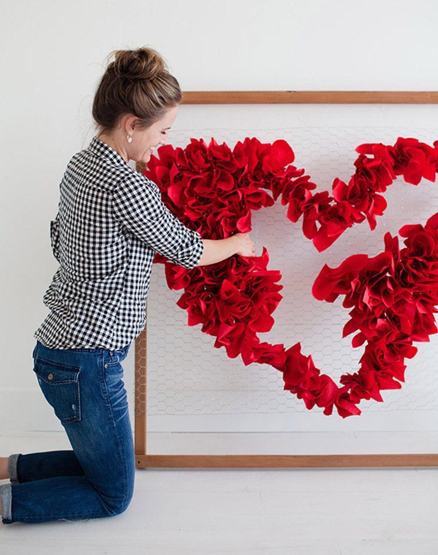 DIY SAN VALENTÍN: CORAZÓN DE PAPEL san-valentin-tutorial