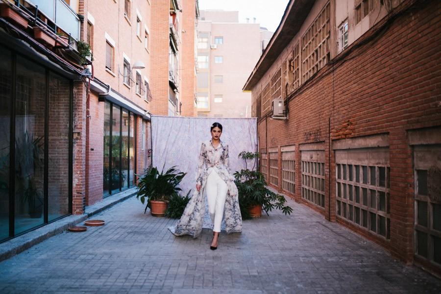 UNA NOVIA ROMÁNTICA Y URBANA vestidos-novia