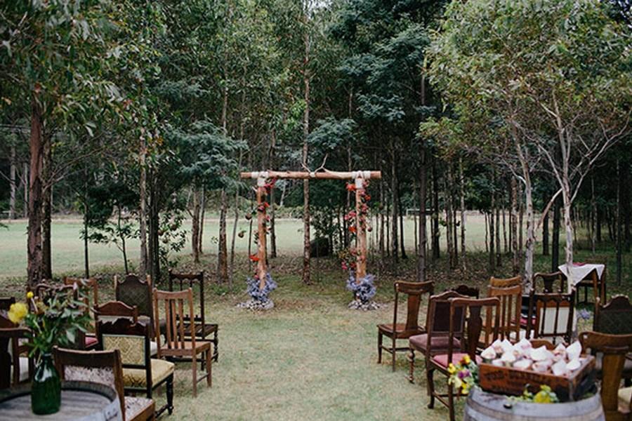 KAT & MICHAEL: UNA BODA JUNTO AL RÍO boda-boho-deco