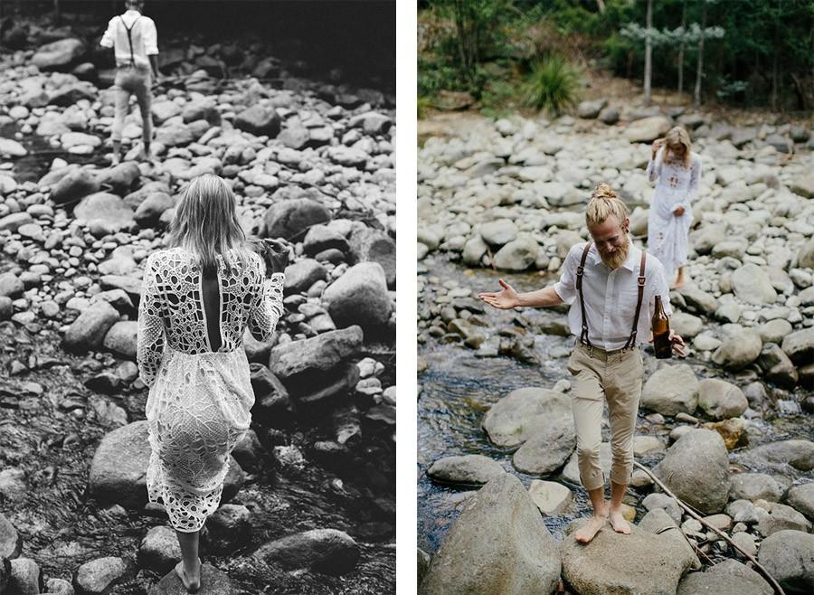 KAT & MICHAEL: UNA BODA JUNTO AL RÍO boda-rio