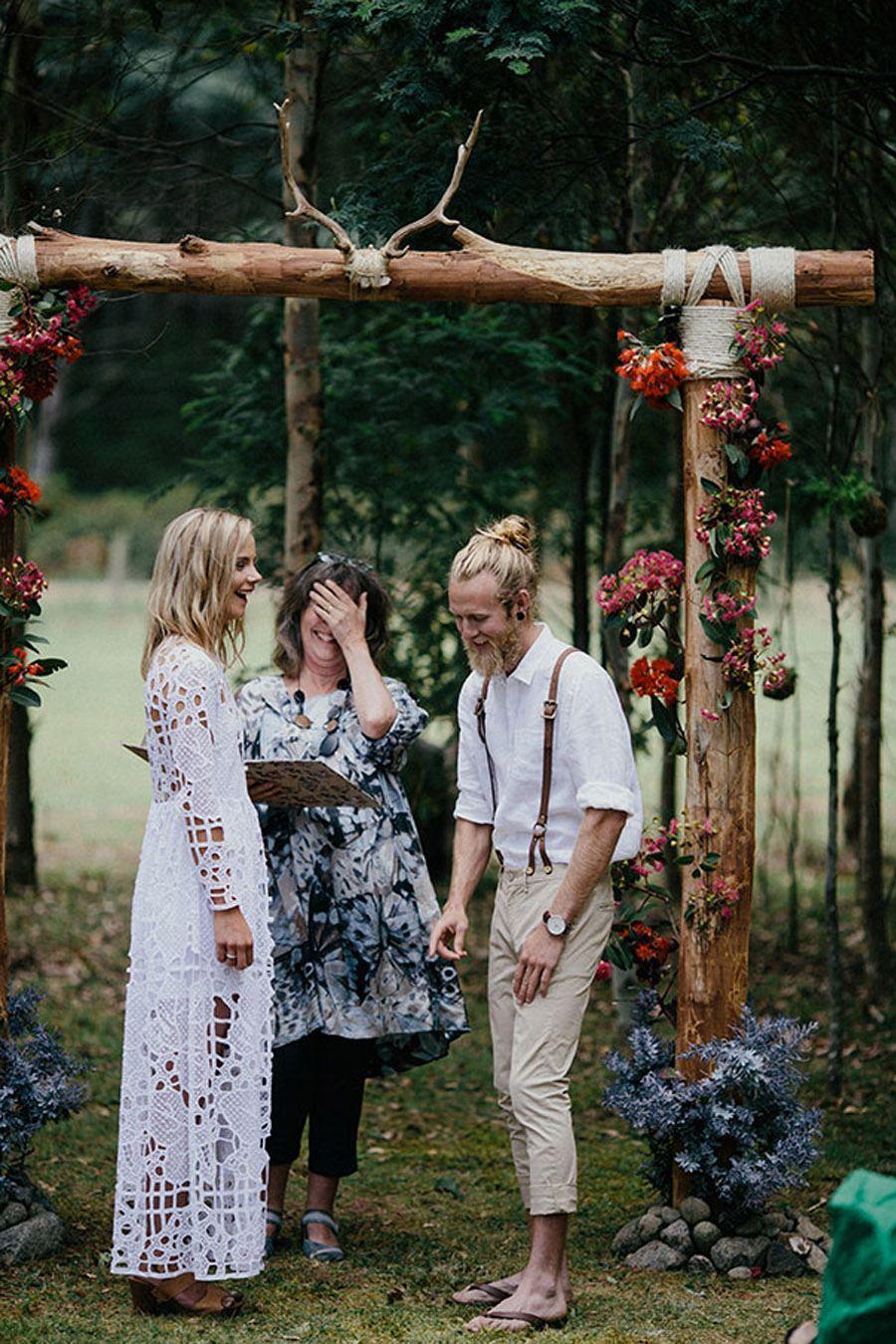 KAT & MICHAEL: UNA BODA JUNTO AL RÍO boda