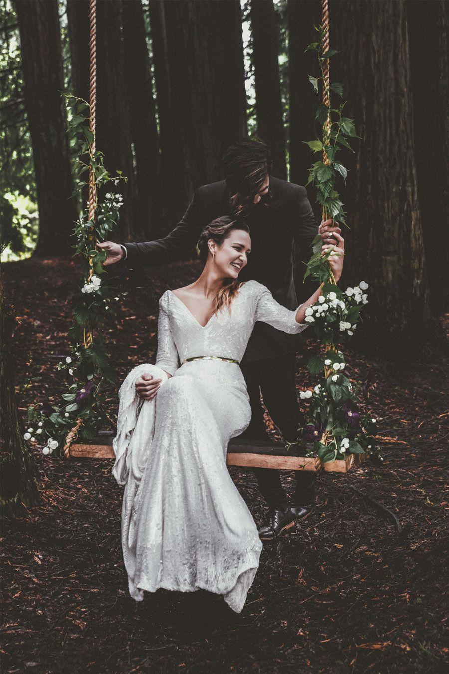 COLUMPIOS DE FLORES bodas-columpios