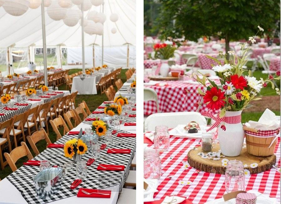 MANTELES DE CUADROS PARA UNA BODA PICNIC bodas-picnic-mantel