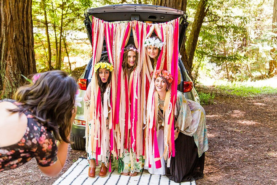 BOHO BRIDAL PARTY boho-wedding-party