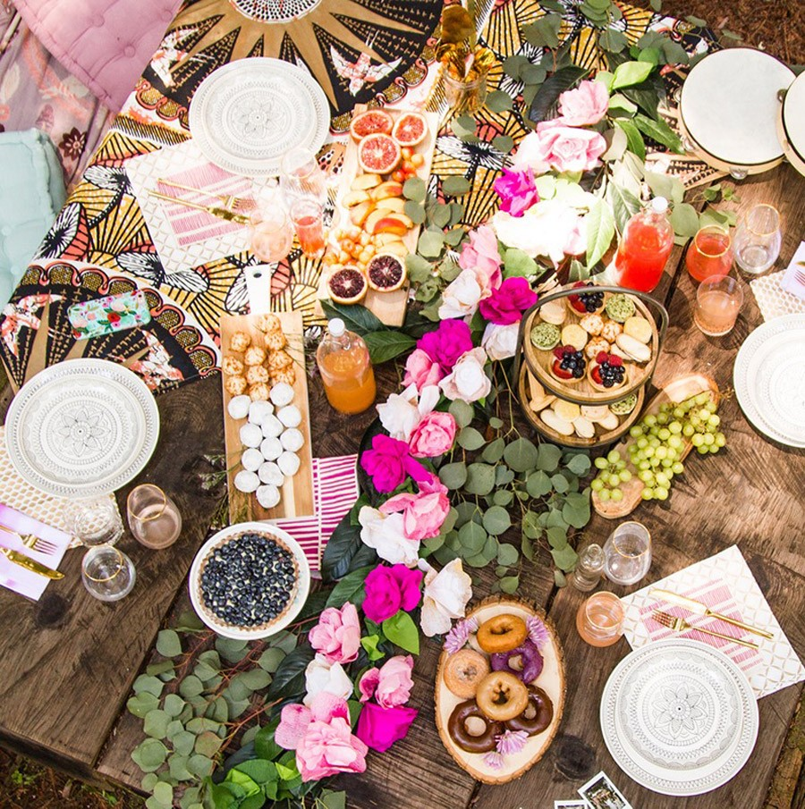 BOHO BRIDAL PARTY bridal-shower-boho