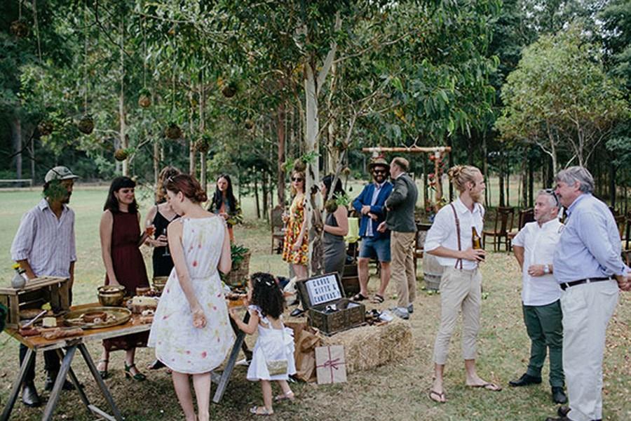 KAT & MICHAEL: UNA BODA JUNTO AL RÍO catering-boda