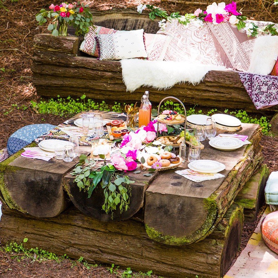 BOHO BRIDAL PARTY decoracion-boho