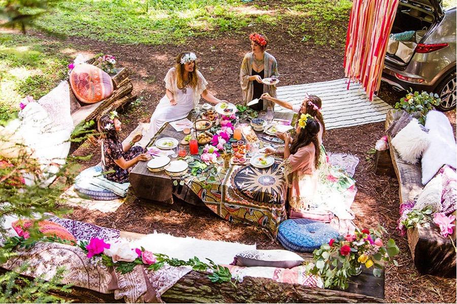 BOHO BRIDAL PARTY party-boho-bridal