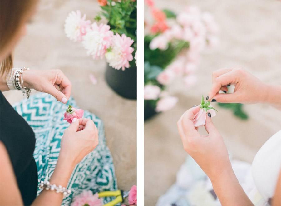 DIY: BICICLETA CON FLORES tutorial-boda