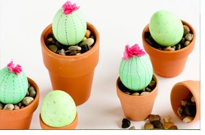 DIY: CACTUS CON HUEVOS DE PASCUA cactus-diy
