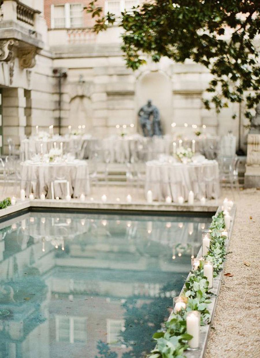 DECORACIÓN DE PISCINAS bodas-piscina