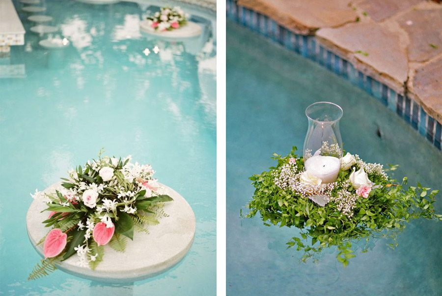 Decoraci n de piscinas blog de bodas de una boda original for Ideas para decorar alrededor de la piscina