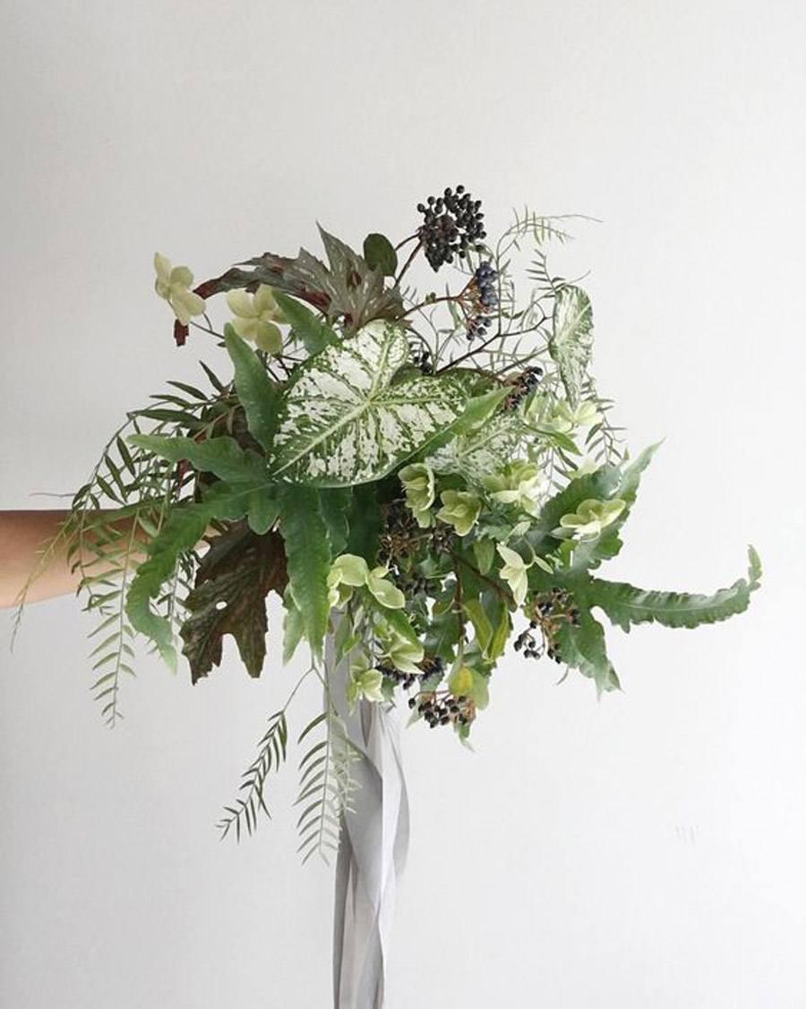 RAMOS VEGETALES ramo-de-novia-vegetal