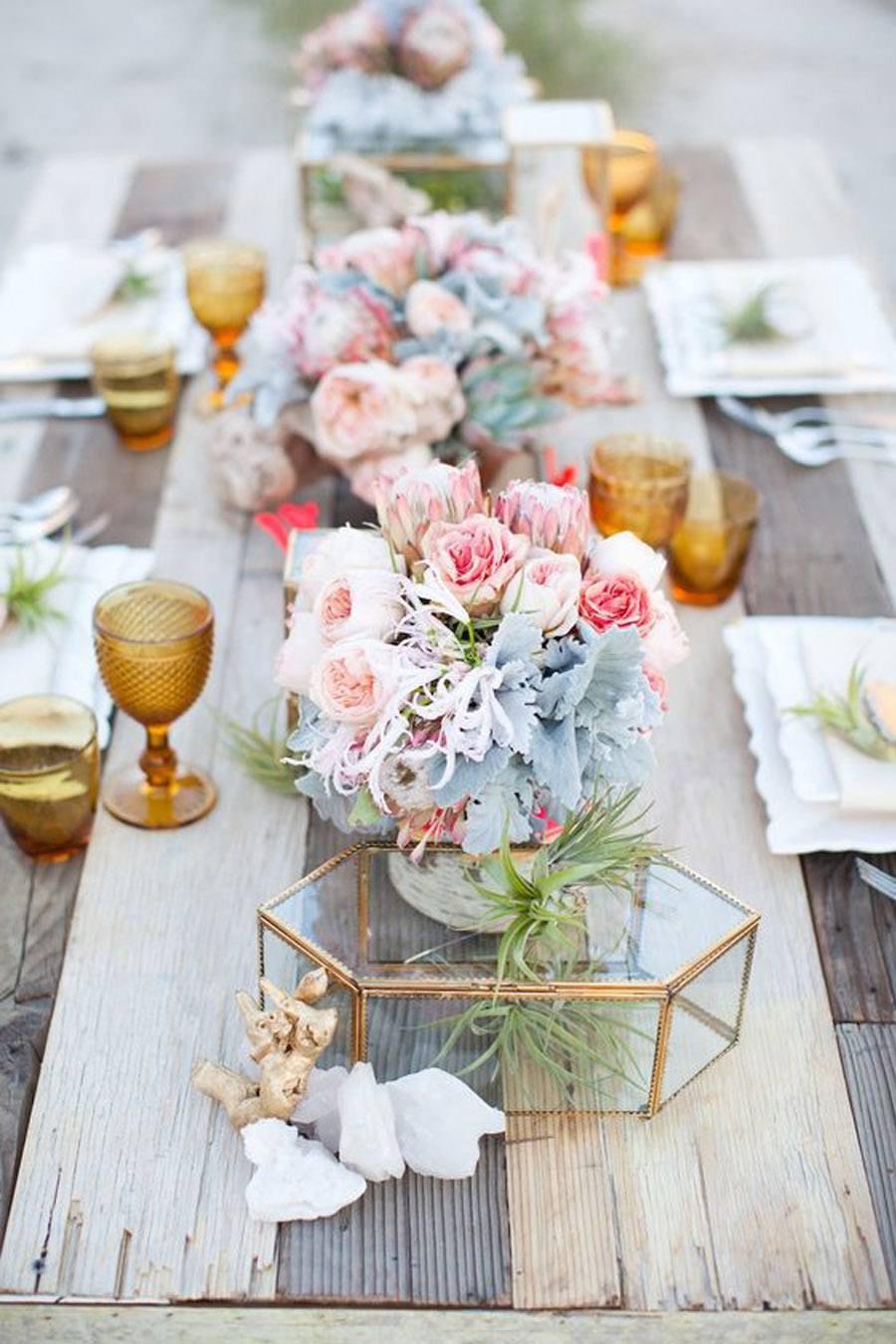 TENDENCIA: VASOS DE COLORES boda-vasos-colores