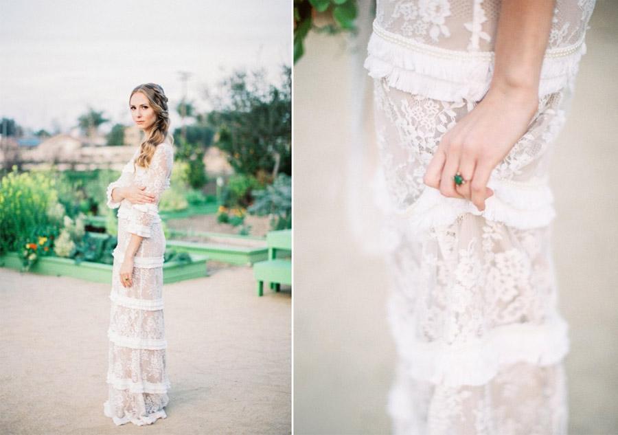 PRIMAVERA ROMÁNTICA vestido-novia