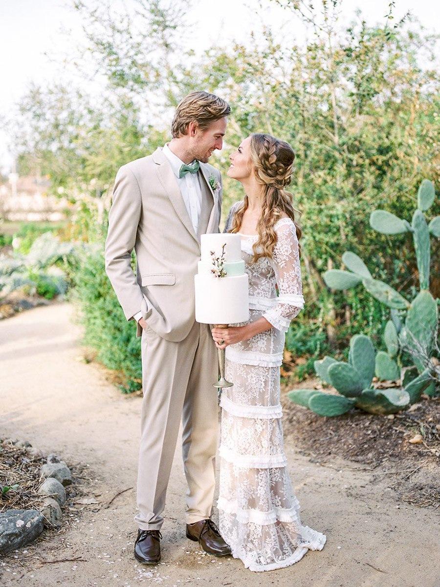 PRIMAVERA ROMÁNTICA vestidos-novia