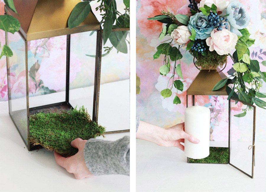 DIY: FAROL CON FLORES faroles-flores