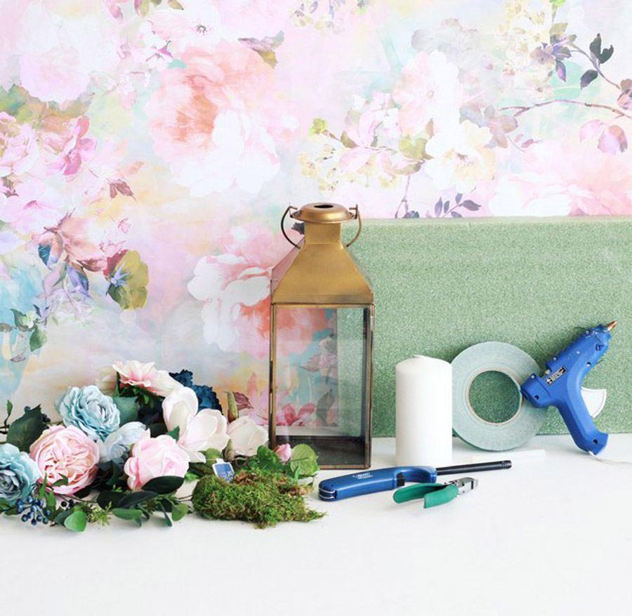 DIY: FAROL CON FLORES flores-faroles