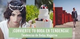 Tendecias de Bodas Magazine