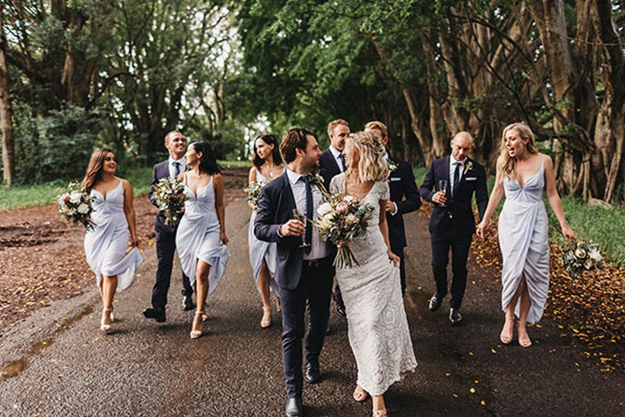 LAURA & BRICE: FELICIDAD boda-chic