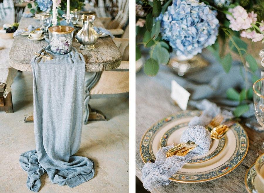 ALGO AZUL... boda-deco-azul