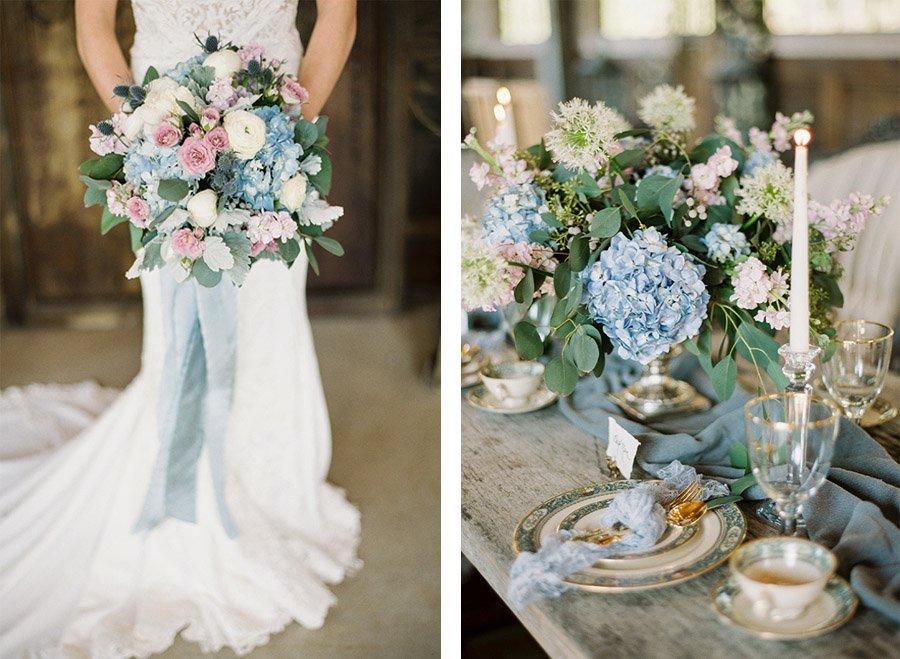 ALGO AZUL... decoracion-azul-boda