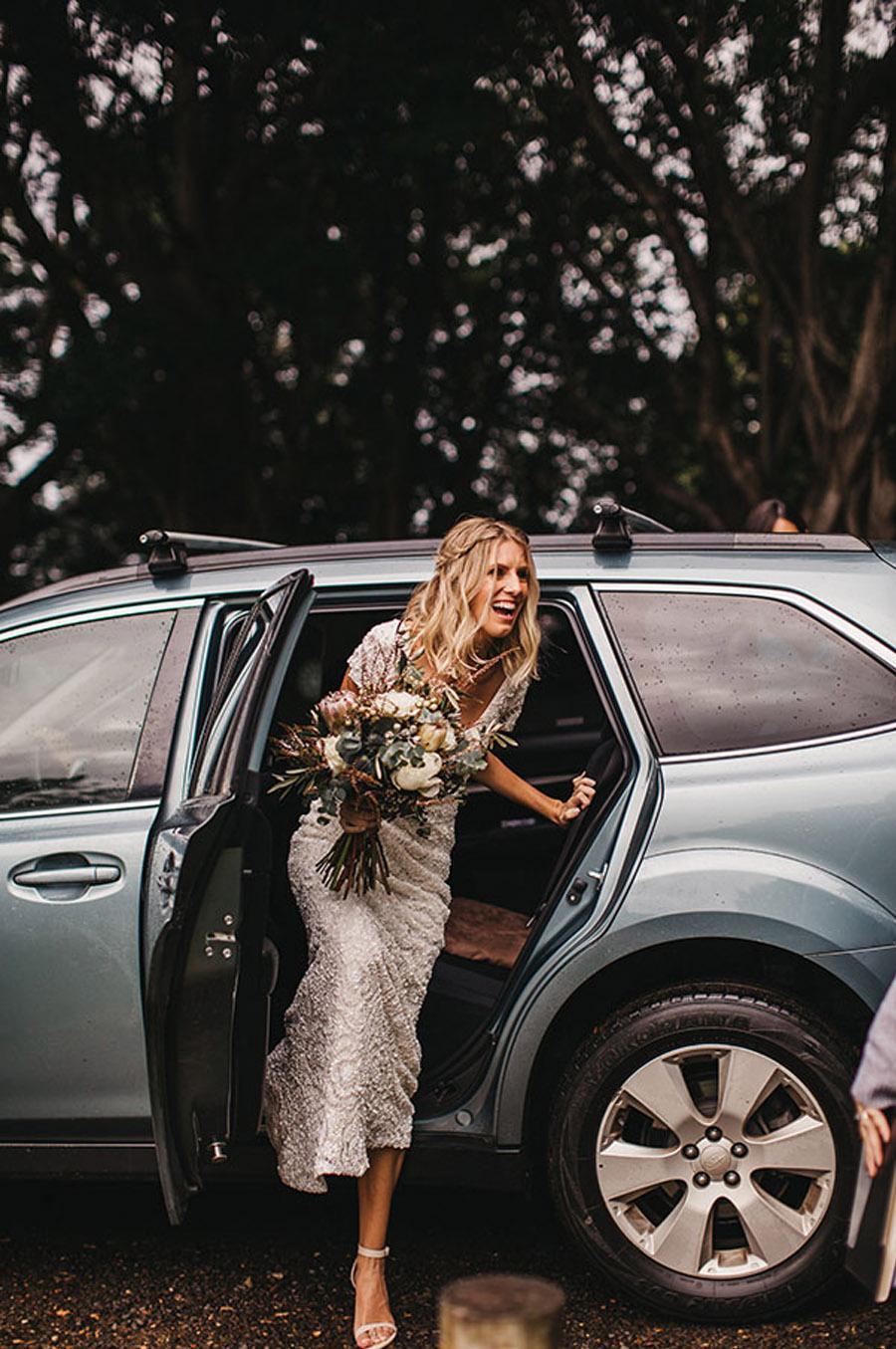 LAURA & BRICE: FELICIDAD novia-boda