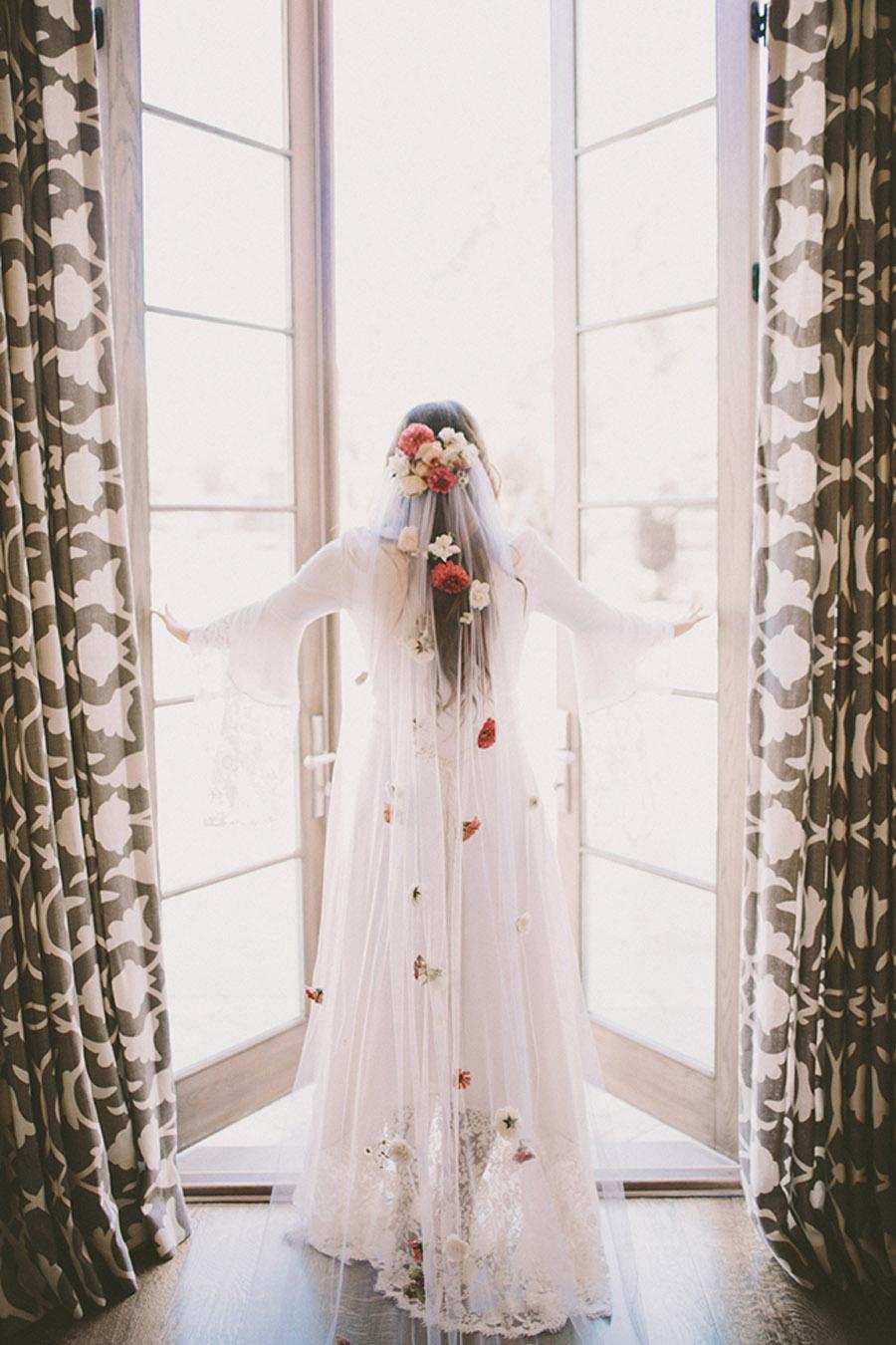 VELOS CON FLORES velo-novia-flores
