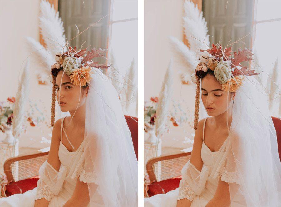 CRUCE DE ESTILOS vestidos-novia-boho