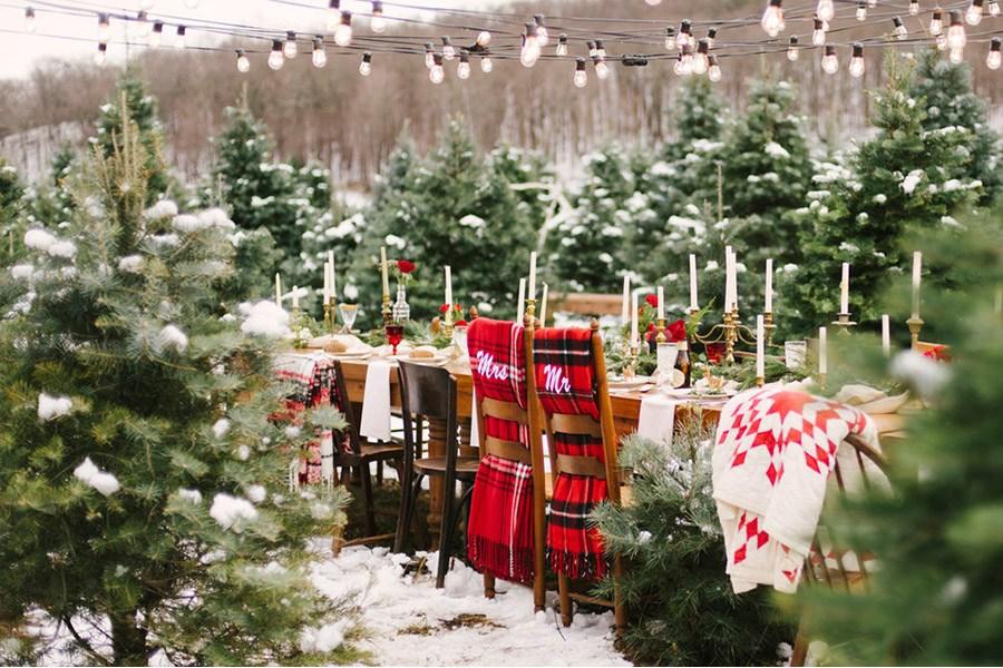 INSPIRACIÓN DE MESA NAVIDEÑA boda-invierno-mesas
