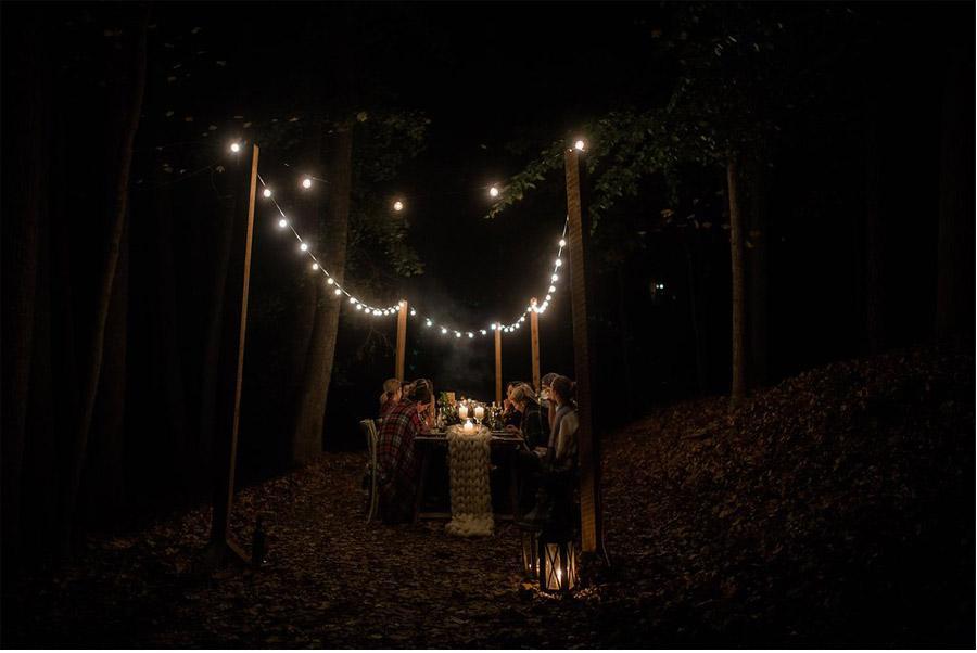 UNA CÁLIDA BODA DE INVIERNO boda-noche-invierno