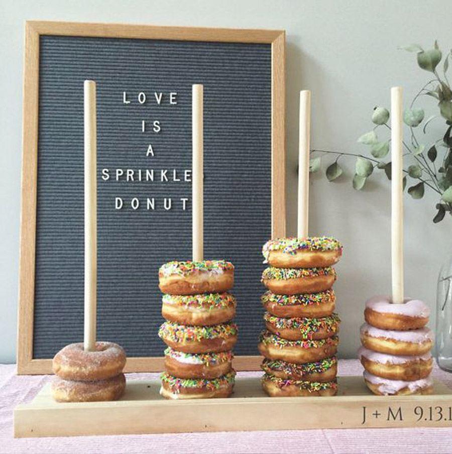DONUT BAR bodas-donut-bar