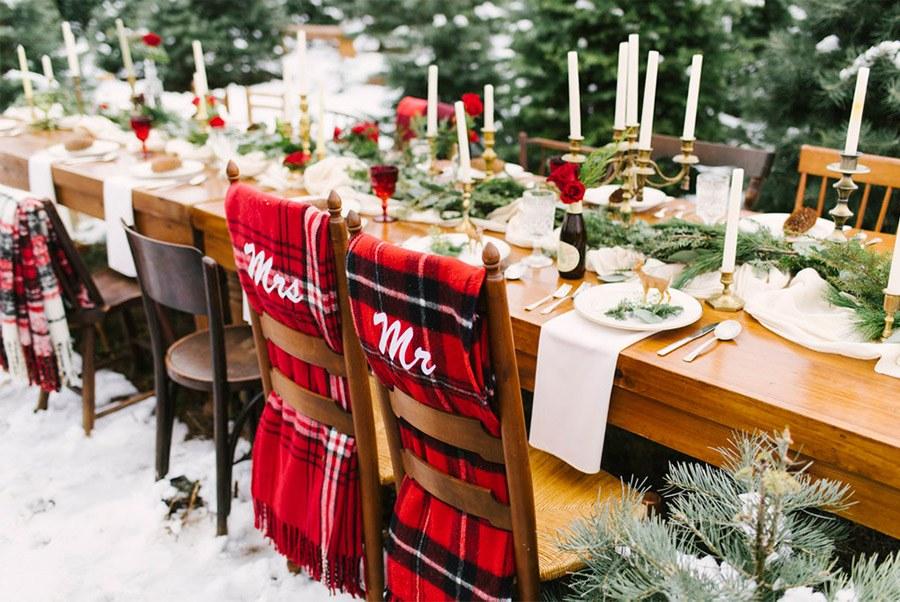 INSPIRACIÓN DE MESA NAVIDEÑA deco-bodas-navidad