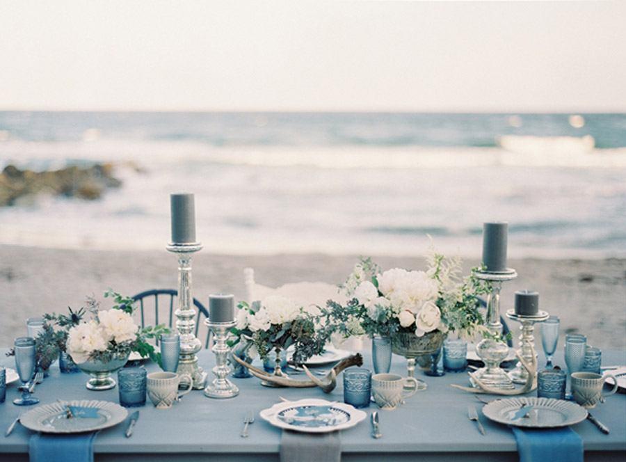 INSPIRACIÓN: AZUL OCÉANO decoracion-boda-en-azul