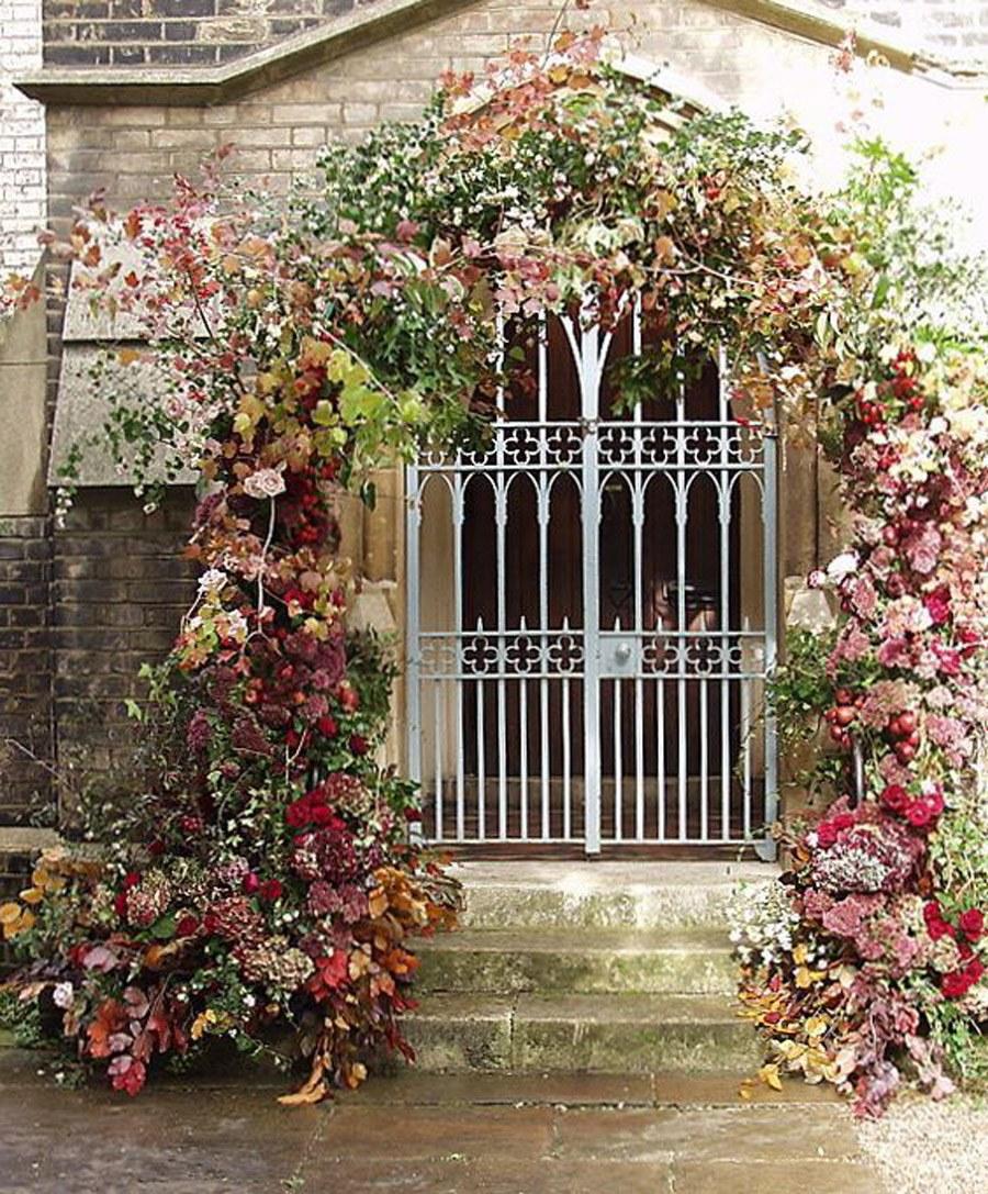 DECORACIÓN DE ENTRADA A LA IGLESIA decoracion-boda-iglesias