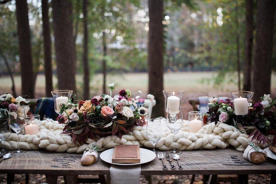 UNA CÁLIDA BODA DE INVIERNO mesa-boda-de-invierno